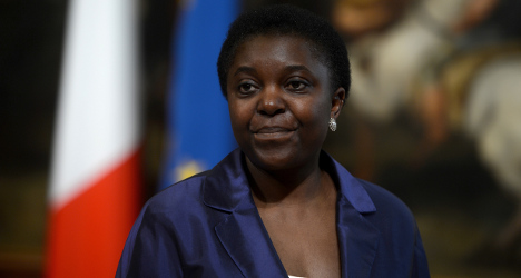 Italy's first black minister hit with racist insult