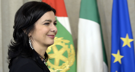 Italy speaker wants new law to protect women