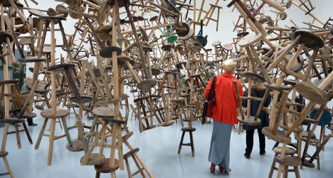 Chinese artist shocks Venice with prison expo
