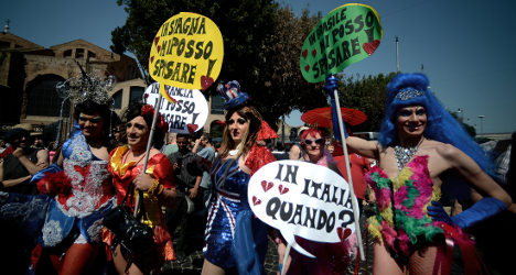 In pictures: Rome Gay Pride 2013