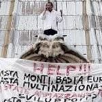 Life on the ledge: Meet Italy's prolific protester