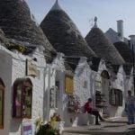 """PUGLIA - Move over Tuscany. The southern region of Puglia may be largely undiscovered by tourists, says Hayes, but it most certainly wins the beauty contest. """"We have arranged weddings in Trulli houses (traditional Apulian houses made of dry stone with a conical roof),"""" she says.  Photo: Traditional Trulli houses: Verity Cridland/Flickr"""