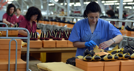 Italy's Tod's shoes turns abroad to defy crisis