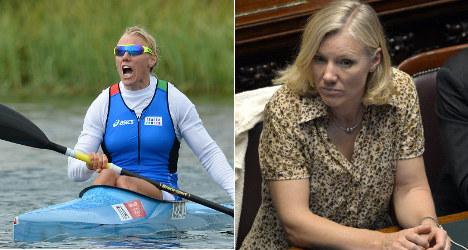 From Olympic gold medallist to minister