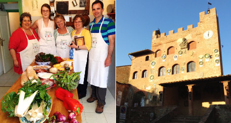 'In Tuscany food never goes to waste'