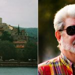 GEORGE LUCAS is thought to have spent €10.5 million buying and restoring a 16th century convent in the town of Passignano sul Trasimeno in Umbria. Locals are thought to be fiercely vigilant of the Star Wars director's privacy, although he is rumoured to have a penchant for buying ice-cream in the village.Photo: Andreas Wahra/Wikicommons (L) and Lucas/Wikicommons (R)