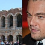 Fifteen years after starring in Romeo & Juliet, LEONARDO DICAPRIO snapped up a loft apartment with a terrace overlooking fair Verona's Arena. DiCaprio, who has Italian roots, was spotted wooing former girlfriend Blake Lively in Verona around the time he bought the property in 2011. His neighbours include the Jolie-Pitts, while Madonna is also threatening to move there.Photo: Sb616/Wikicommons (L) and Siebbi/Wikicommons (R)