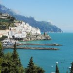 View of the Amalfi Coast from above.Photo: Laura Thayer