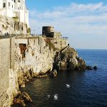 A watchtower in Amalfi.Photo: Laura Thayer