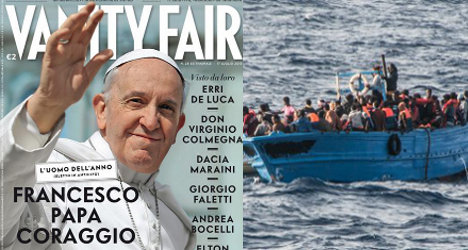 Pope Francis is Vanity Fair's 'Man of the Year'