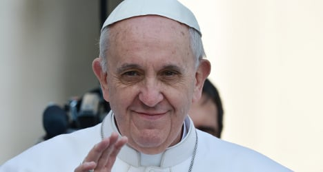 'Gay people should not be judged' – Pope Francis