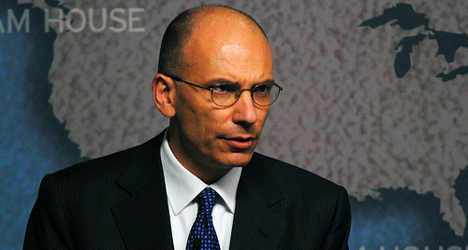 Letta has 'no fear' of British exit from EU