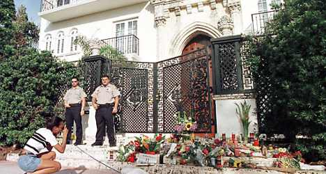 Villa tainted by Versace murder up for sale