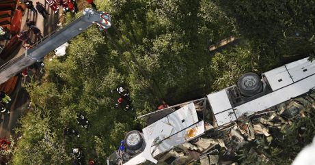 Manslaughter probe launched into bus crash