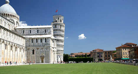 Pisa tower offers app for the blind
