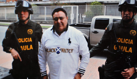 Italian mafioso deported from Colombia