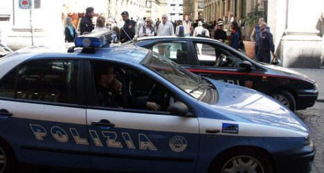 Rome gangster in Hollywood-style chase