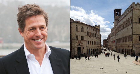 Holidaying Hugh Grant mobbed by Italian fans