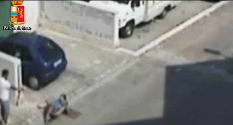 VIDEO: Man shoots at victim with unloaded gun
