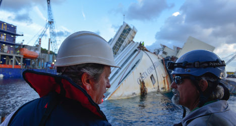 The brains behind the Costa Concordia salvage