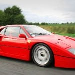 This model, called the F40 was the last to be approved by Enzo Ferrari before his death in 1988. It's a mid-engine, rear-wheel drive, two-door coupé sports car and was designed to celebrate Ferrari's 40th anniversary.Photo: Will ainsworth/Wikicommons