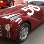 Ferrari 125 S (commonly 125 or 125 Sport) was the first vehicle to bear the Ferrari name in 1947.Photo: Aiace90