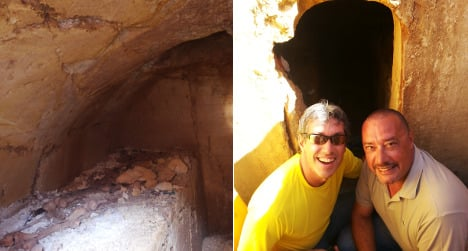 The man behind the Etruscan tomb discovery