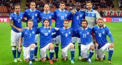 Italy scores place at 2014 World Cup finals
