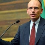 <div> <strong>April 28th&nbsp;</strong></div> <div> The centre-left Democratic Party&#39;s deputy leader Enrico Letta is sworn in at the head of an uneasy coalition with Berlusconi after a two-month deadlock and the resignation of party leader Pier Luigi Bersani.</div> <div> &nbsp;</div>Photo: Vincenzo Pinto/AFP