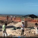 Students hard at work at the burial site.Photo: University of Turin