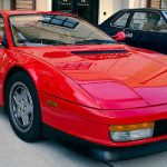 """The Ferrari 'Testarossa' - which translates into English as """"red-head"""" - is a 12-cylinder mid-engine sports car manufactured in 1984 as the successor to the Ferrari Berlinetta Boxer. Photo: Michael Price/Wikicommons"""