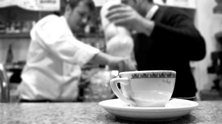 'Coffee and chat' is the king of Italian socialising