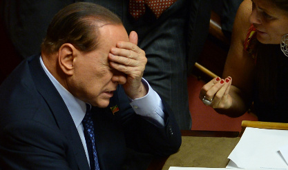 Is now the end for Berlusconi?