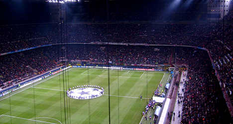 AC Milan forced to play in empty stadium