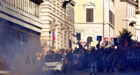 Rome prepares for a 'weekend of fire'