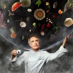 Ferran Adrià, the famed Spanish chef, is on the cover in a bubble full of culinary ideas. Adrià's elBulli restaurant, which closed in 2011, was repeatedly named the best in the world. He is now set to reopen elBulli as a foundation.Photo: Martin Schoeller/Lavazza