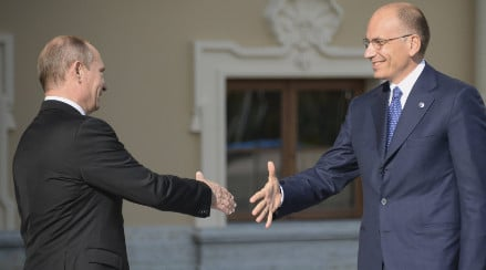 Italy eyes Russian cash to boost economy