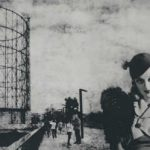 BETTE DAVIS - Davis is shown alongside the industrial architecture of the gasometer, just outside Rome. Apparently she disliked filming in the eternal city, and was bothered by both her Italian director and the constant paparazzi.