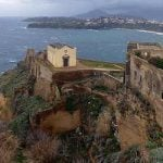 CARCERE TERRA MURATA in Campania. The one-time maximum security prison sits at the highest point of the island of Procida, and has also been used as a factory. It was bought by the state in March and has been open to tourists since then.Photo: Porfirio/Flickr