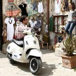 """""""Ti faccio vedere la città, andiamo con la Vespa!"""" (""""Let me show you the city, we'll go on my Vespa!""""). What the users of this phrase lack in originality, they make up for in clichés, and reliance on Italy's image as a nation of Latin lovers. Many of our readers reported being offered a 'private tour' of their new Italian hometown, often on a Vespa by night.Photo: SOCIALisBETTER/Flickr"""