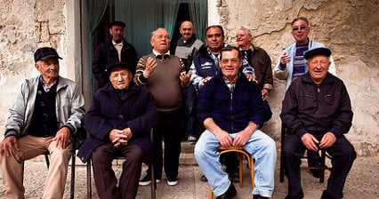 Italy has Europe's second-oldest population
