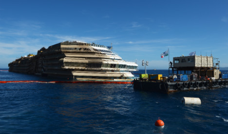 Italy cruise wreck to be re-floated by June: report