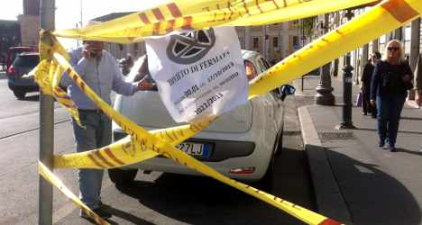 Rome police use Twitter to impose fines