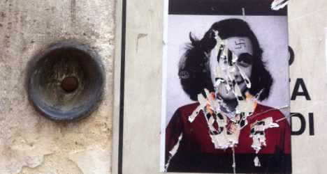 Football fans use Anne Frank in anti-Jew attack