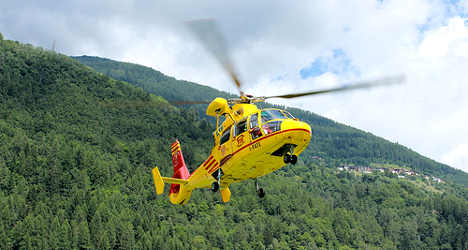 'Miracle' as family saved from Italian mountain