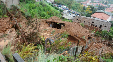 Landslides in Italy force 200 from their homes