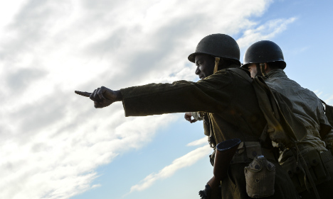 WWII landings re-enacted to mark 70th anniversary