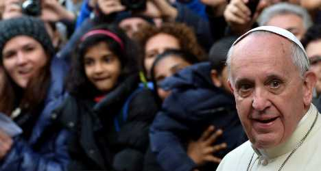 Pope warns cardinals against partying