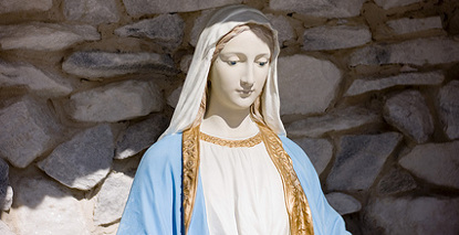 Virgin Mary statue 'cures' cancer sufferer