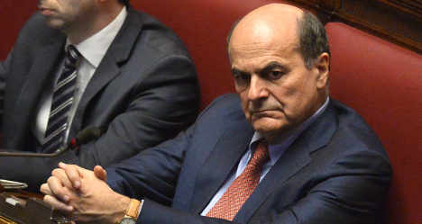 Ex-leader Bersani recovering after surgery